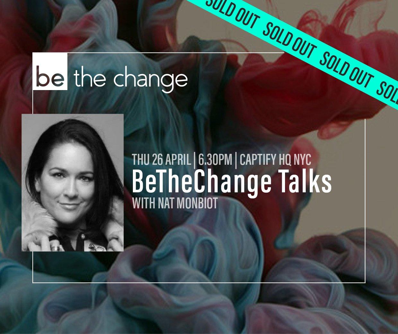 BeTheChange Talks NYC