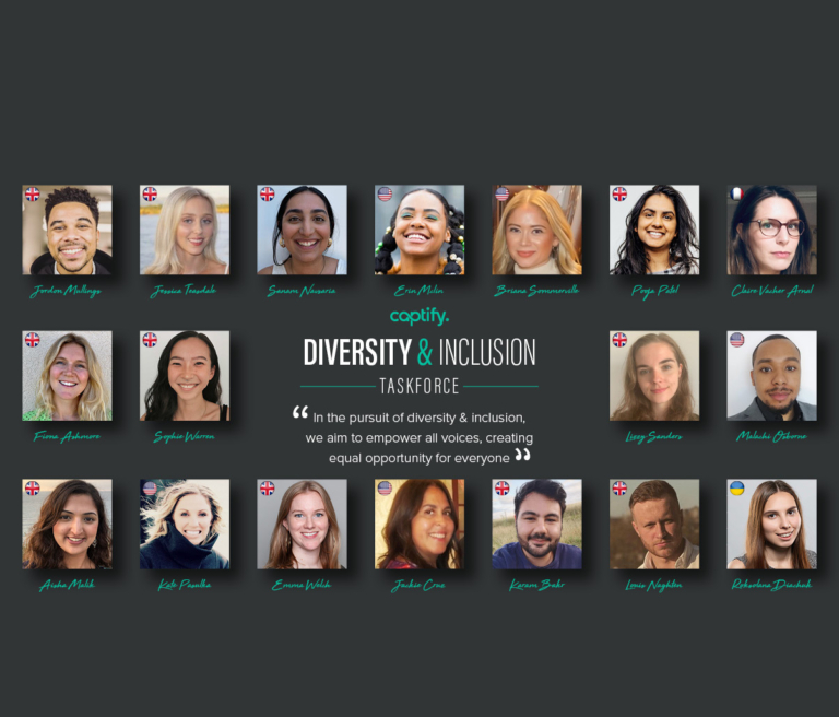 Meet Captify's Diversity and Inclusion Taskforce