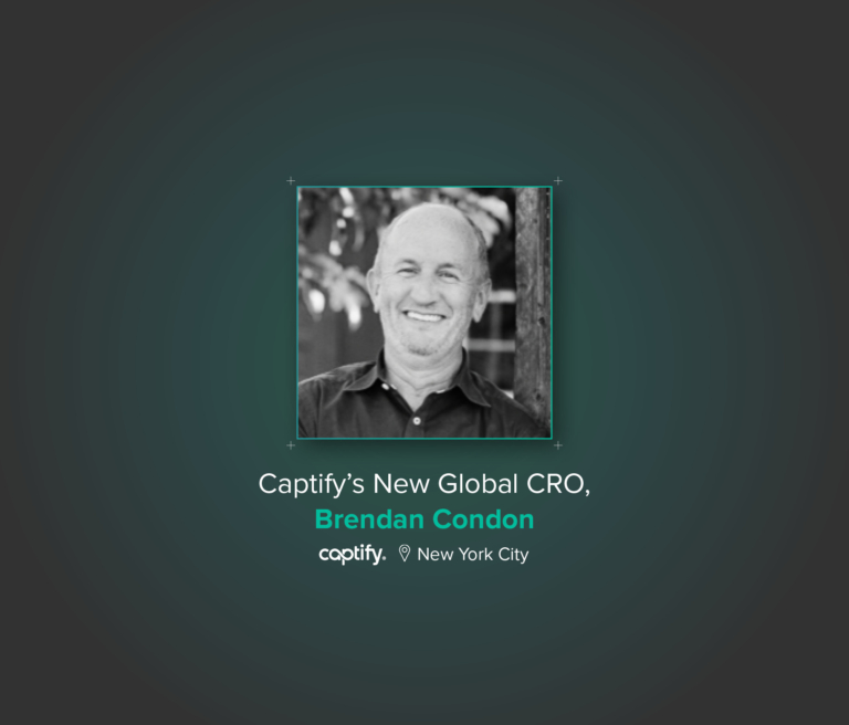 Comcast Executive Brendan Condon Joins Search Intelligence Company Captify as Global CRO