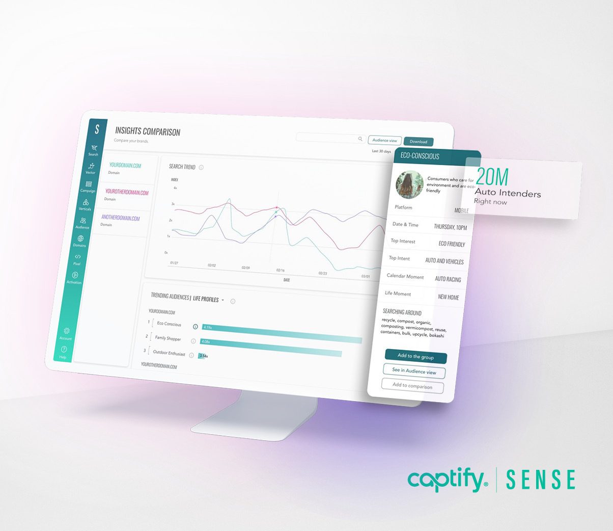 Captify Launches Unique Publisher Suite within Sense, Its New Search Intent-Powered Platform, Empowering Publishers to Increase the Value of Their Audiences and Inventory