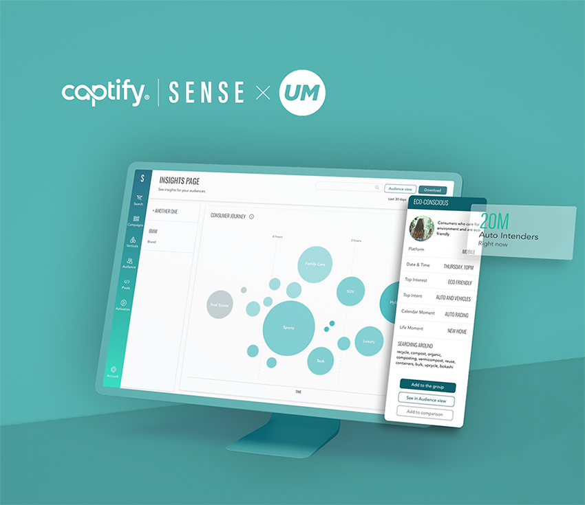Captify Unveils Self-Service Platform, Sense, Giving Advertisers Direct Access to Deeper, More Robust Consumer Understanding Through Fresh, Search-Powered Insights and Audiences