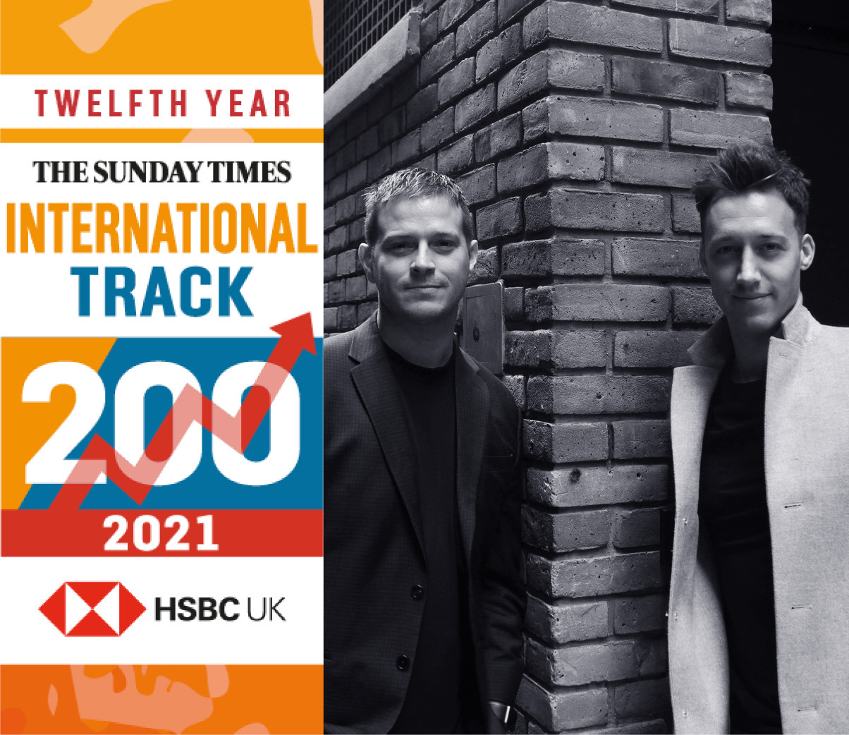 Captify recognized in The Sunday Times HSBC International Track 200