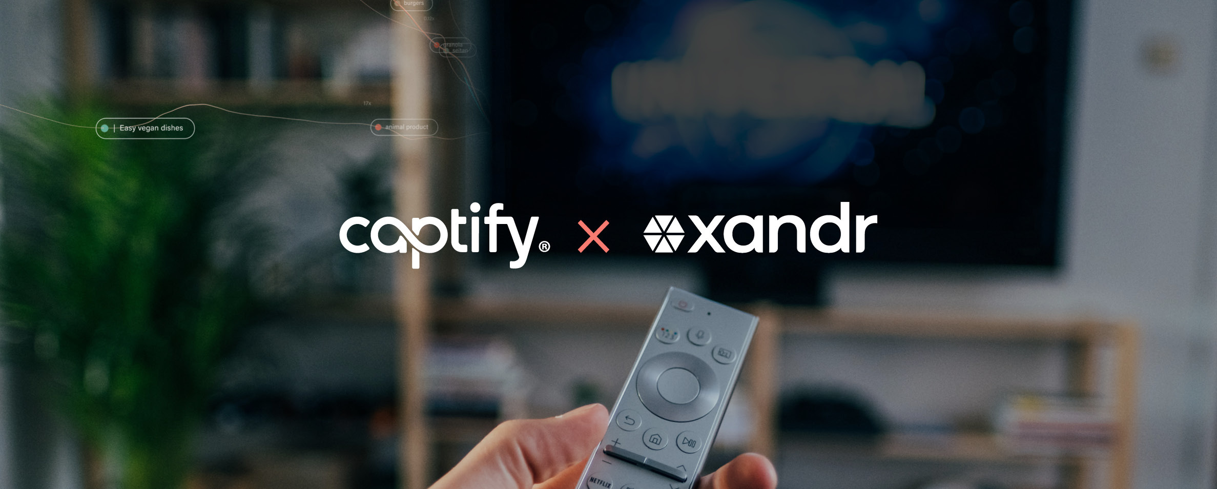 Captify Uses Xandr Curate to Provide Advertisers with Real-Time, Search-Powered Audiences At-Scale across CTV and Video