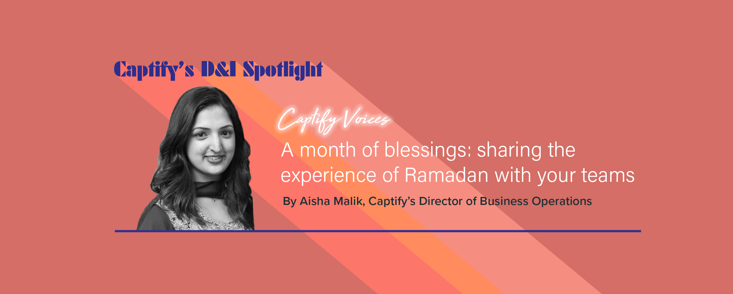 A Month Of Blessings: Sharing The Experience Of Ramadan With Your Teams