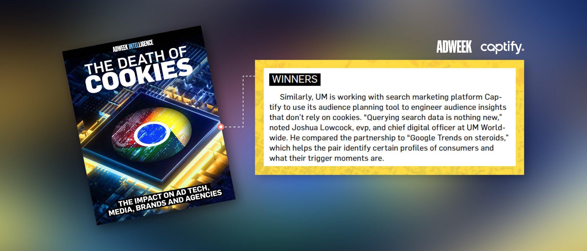 Captify's Self-Service Platform, Sense, is Crowned A Winner In Adweek's Special Report