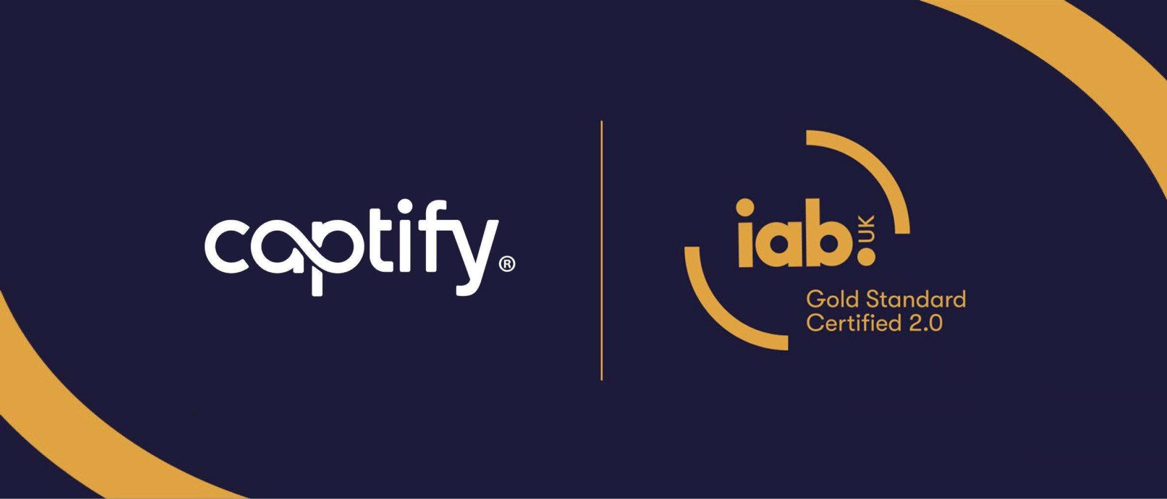 Captify Awarded IAB Gold Standard 2.0 Certification