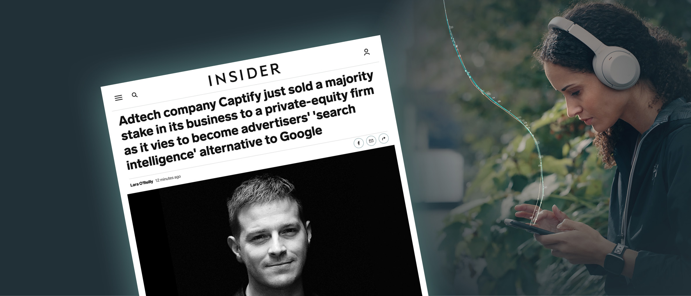 Business Insider: Adtech Company Captify Just Sold A Majority Stake In Its Business To A Private-equity Firm As It Vies To Become Advertisers' 'Search Intelligence' Alternative To Google