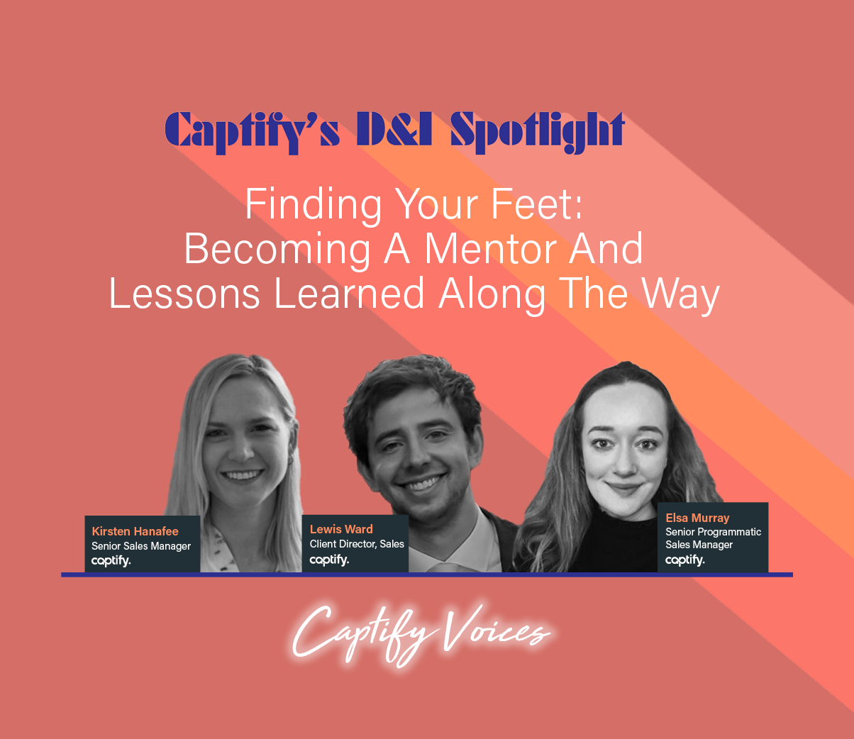 Finding Your Feet: Becoming A Mentor And Lessons Learned Along The Way